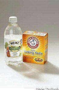 baking soda and vinegar drain cleaner